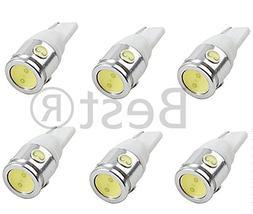 Best to Buy  WHITE Bulb T5 Wedge 2.5W 360Deg LEDs for Malibu