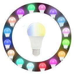 wifi smart color led light bulb