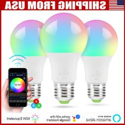 wifi smart led light bulb rgb dimmable