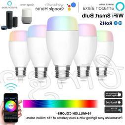 wifi smart light led bulb 10w rgbw