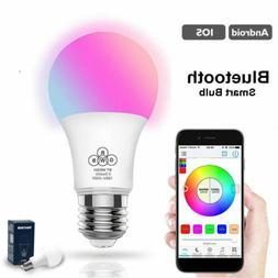 Wifi Smart Multi-Color LED Light Bulb for Amazon Alexa Googl