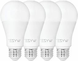 Wyze Bulb 800 Lumen A19 LED Smart Home Light Bulb, 4-Pack
