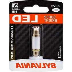 SYLVANIA ZEVO 578 41mm Festoon White LED Bulb